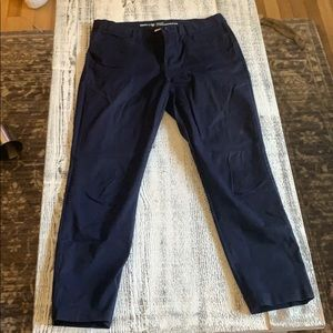 Gap slim city khakis